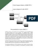 Introducción Al Code Composer Studio y Al DSK C6713 Codecaic23