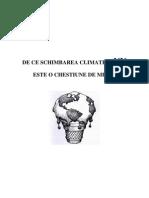 De Ce Schimbarea Climatica Nu Este o Chestiune de Mediu