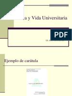 Ética y Vida Universitaria 2-2010