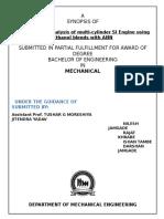Performance Parameters of Single Cylinder 4-Stroke Spark Ignition Engine Using Gasoline - Ethanol Blends