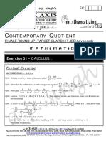 e01 Calculus t