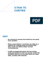 Introduction to Debt Securities