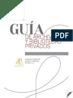Guía de archivos y bibliotecas privados