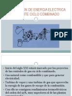 Generación de Energia Electrica Mediante Ciclo Combinado Valdivia
