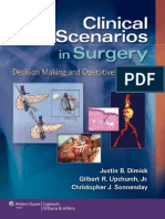 2012 Clinical Scenarios in Surgery