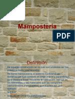 Mampostería Presentación.