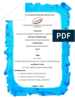 Consejo Nacional de Decanos de Los Colegios Profesionales Del Perú