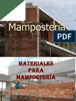 Materiales Para Mampostería_Waltero, Mejía, Hernández