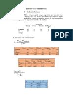TAREA 4.1 Ji Cuadrada y Analisis de Varianza