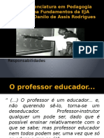 Compromissos Do Professor Da EJA