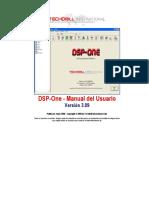 DSP-One Manual Del Usuario