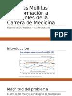 Diabetes Mellitus y Docencia 28052016