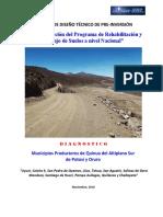 Diagnostico Linea Base Mancomunidad de Quinua - 29 Nov 2016