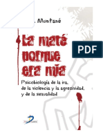 LIBRO Psicobiologia de La Ira, De La Violencia, Agresividad y