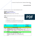 SPA 310-002 Spanish Composition Through Textual Analysis - Lesson Plan (Jan. 13th, 2017)