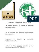 Directiva Asociación Ingeniería Civil 2010
