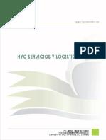 Nell david perez gaitan, HyC Servicios y Logistica
