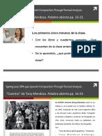 SPA 310 Capítulo 1 pp. 17-25