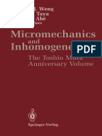 Micromechanics and Inhomogenity