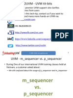 CVC m Sequencer vs p Sequencer