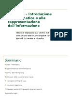 Rappresentazione Dell'Informazione - Supporto