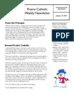 Newsletter 1 19 17