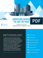 2016 Downtown Denver Commuter Survey