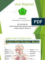 Anatomi Dan Fisiologi Sistem Respirasi 1