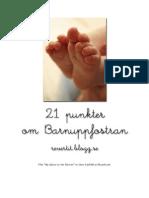 21 Punkter Om Barnuppfostran - Svenska