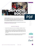 Convocatoria Servicio Social FeNaL 2017
