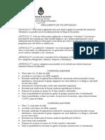Programa Voluntarios - Reglamento