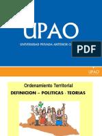 Ordenamiento Territorial