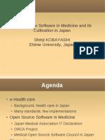 OpenSourceSoftwareInMedicine-DrShinji