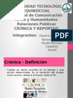 Crónica y Reportaje
