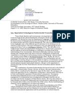 Hypertextual Technologies in Poststructuralist Transcultural Communities