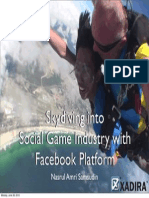 Skydiving Into Social Game Industry With Face Book Platform