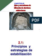 Principios, Mecanismos de Estabilizacion