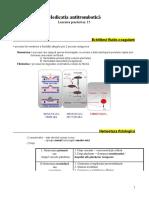 Lucrarea Practica Nr. 15 - Medicatia Antitrombotica