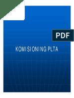 Komisioning Plta