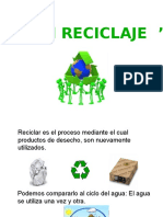 El Reciclaje