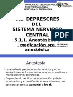 Anestesicos y Medicacion Pre Anestesica