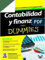 Contabilidad y Finanzas Para Du - Oriol Amat