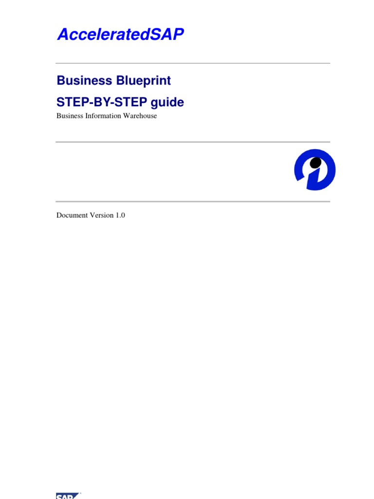 Business blueprint how to prepare metadata business process malvernweather Gallery