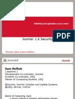 Joomla1.6Security-SamMoffat