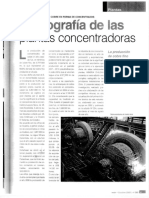 Radiografia de Las Plantas Concentradoras, (Chile 2005)