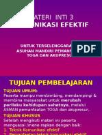 MI 3 Komunikasi, Advokasi & Fasilitasi Asuhan Mandiri Pemanfaatan TOGA & Akupresur.pptx