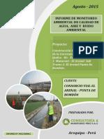 Monitoreo Ambiental Agosto 2015