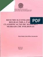 Noções de Classificação de Madeiras Serradas de Folhosas