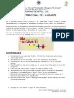 Informe Del Migrante