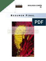 Resumen Final Biología